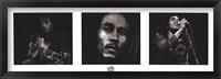 Framed Bob Marley BW