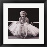 Framed Marilyn Monroe - Ballerina