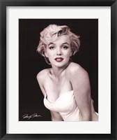Framed Marilyn Monroe - Red Lips
