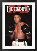 Framed Ali - The Champion