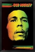 Framed Bob Marley - Face