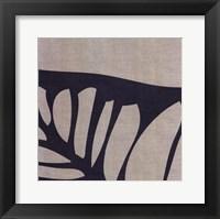 Framed Shadow Leaf II