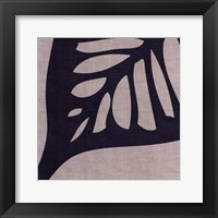 Framed Shadow Leaf III