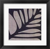 Framed Shadow Leaf IV