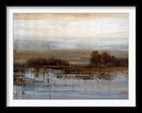 Framed Silver Dawn