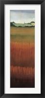 Tuscan Fields II Framed Print