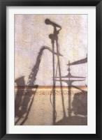 Framed Jazz Instruments