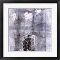 Framed Neutral Bouquet I
