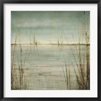 Framed Blue Tranquility II