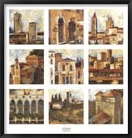Framed Tuscan Series