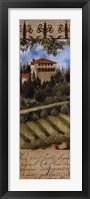 Framed Tuscany Villa II