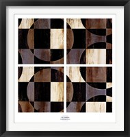 Framed Interlocking Circles