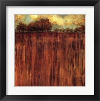 Framed Horizon Line with Trees I