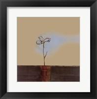Framed Zen Blossom I