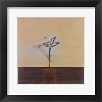 Framed Zen Blossom II