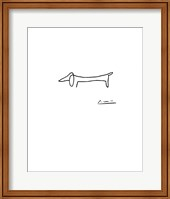 Framed Dog