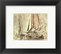 Framed Marine Scene