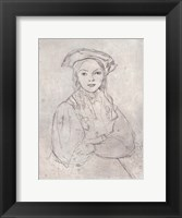 Framed Girl in Beret
