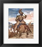 Framed Mounted Officer