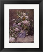 Framed Spring Bouquet, 1866