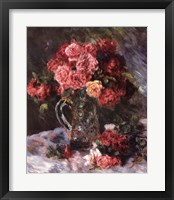Framed Roses Still Life