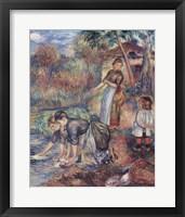 Framed Washer-Women, c.1889