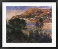 The Esterel Mountains Framed Print