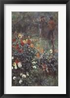 Framed Garden in the Rue Corot