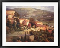 Framed Italian Overlook