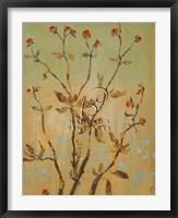 Framed Fragile Spring I