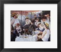 Framed Luncheon of the Boating Party, c.1881
