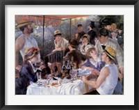 Framed Le Dejeuner des Canotiers