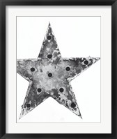 Framed Electric Star