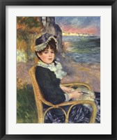 By the Seashore Framed Print