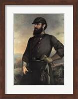 Framed General Tj Jackson
