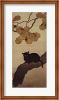Framed Black Cat
