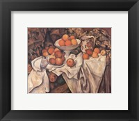 Framed Apples and Oranges, c.1895