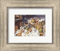 Framed Still Life with Fruit Basket