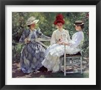 Framed Three Sisters