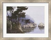 Framed Whaler's Cove Morning Fog