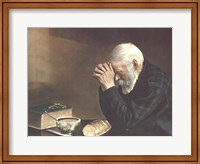 Framed Grace (Old Man Praying)