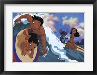 Framed Lilo's Surfing Adventure