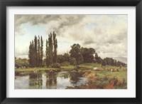 Framed Bredon-on-the-Avon