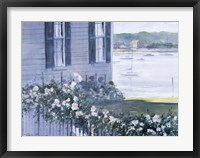 Framed Harbor Roses