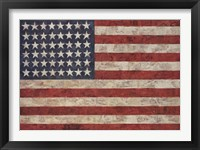 Framed Flag, 1954