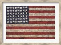 Framed Flag, 1954