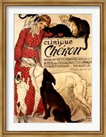 Framed Clinique Cheron