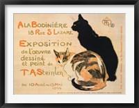 Framed la Bodiniere / Exposition Steinlen