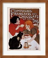 Framed Compagnie Des Chocolats Et Des Thes