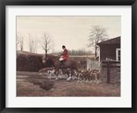 Framed Orange County Hounds